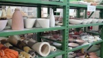 Pots awaiting firing