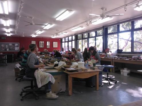 29515 Ceramics Foundation group 2014