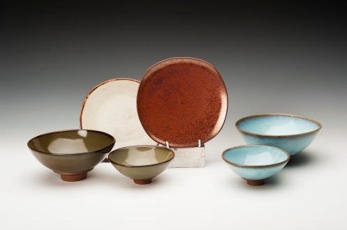 Margaret Armstrong-bowls and plates