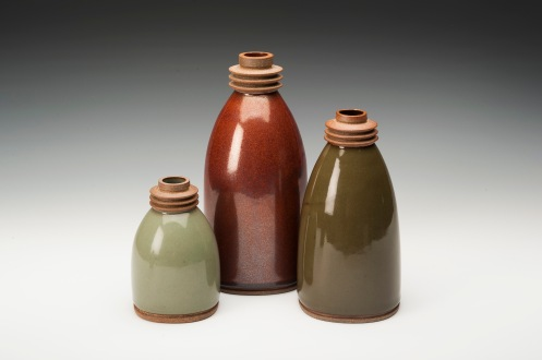 Margaret Armstrong-Trio of bottles
