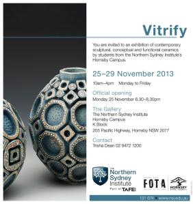 Vitrify exhibition