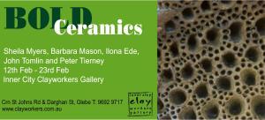 bold ceramics