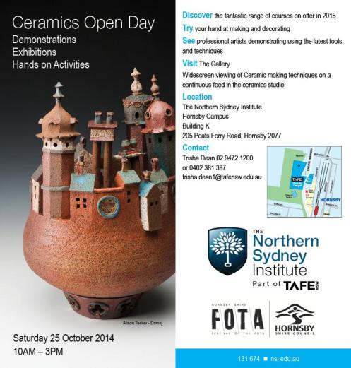 Hornsby Ceramics Open day