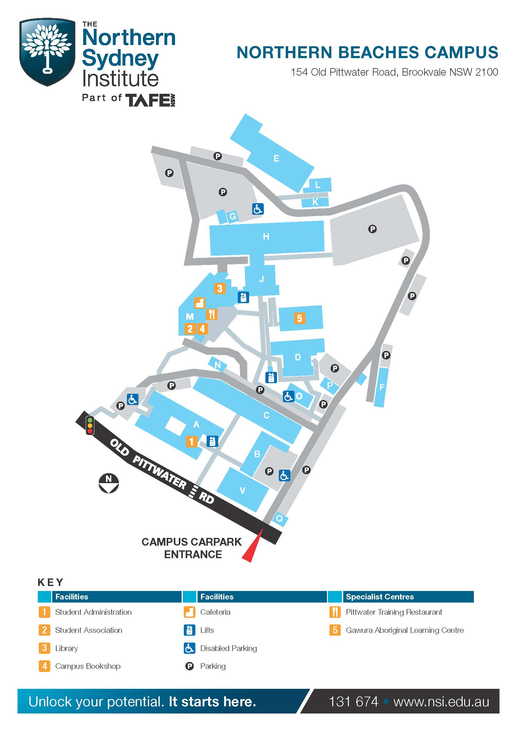 Map Northern Beaches Tafe _northern Beaches Campus Map_page_