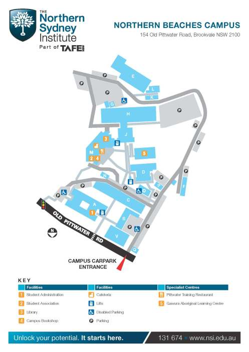 13_Northern Beaches Campus Map_Page_1