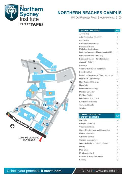 13_Northern Beaches Campus Map_Page_2