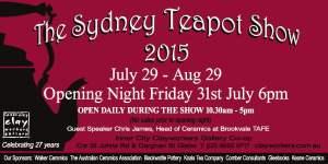 Teapot show 2015