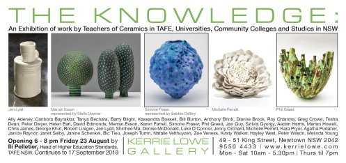 Teachers Exhibition The knowledge kerrie lowe 2019